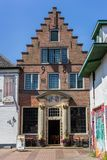 Restaurant historique en Den Burg images libres de droits
