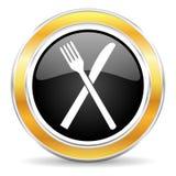 restaurant icon royalty free illustration