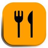 Restaurant icon,  Stock Image