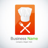 Restaurant icon, logo Royalty Free Stock Images