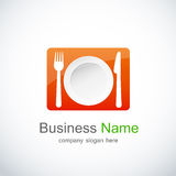 Restaurant icon, logo Stock Photography
