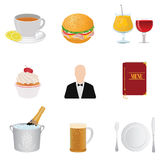 Restaurant icons Stock Photos