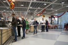 Restaurant IKEA St Petersburg photos libres de droits