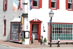 Restaurant Il Porto in Alexandria VA Royalty Free Stock Photography