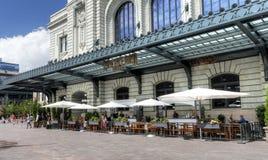 Restaurant im Freien Crawford Hotel Union Station Lizenzfreie Stockbilder