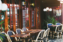 Free Restaurant In Paris Stock Image - 62015411