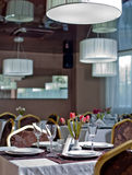 Restaurant interior Stock Photos