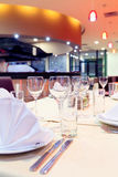 Restaurant interior Stock Photography