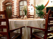 Restaurant interior Stock Image