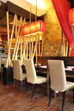 Restaurant Interior Design. Image of interior design of a restaurant Royalty Free Stock Photo