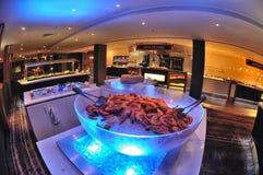 Restaurant interior design Stock Image
