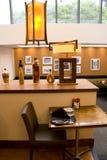 Restaurant interior lighting Royalty Free Stock Images