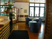 Restaurant interior Lugano Stock Photo