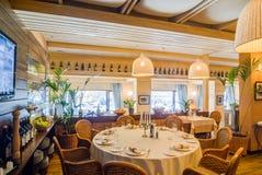 Restaurant interior shot Royalty Free Stock Image