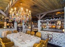 Restaurant interior shot Royalty Free Stock Photos