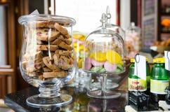 Restaurant interior shot Stock Photo
