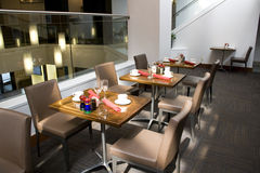 Restaurant interiors Stock Photography