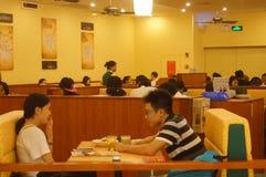 Restaurant italien à Shenzhen Photographie stock libre de droits