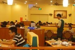 Restaurant italien à Shenzhen Image stock