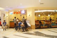 Restaurant italien à Shenzhen Images libres de droits