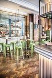 Restaurant italien élégant Photos libres de droits