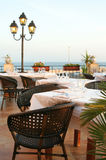 restaurant italien Image stock