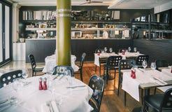 Restaurant italien images libres de droits