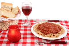 Restaurant italien Photographie stock libre de droits