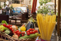 Restaurant italien Photos stock