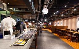 Restaurant japonais image stock