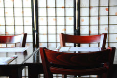 Restaurant japonais Photos stock