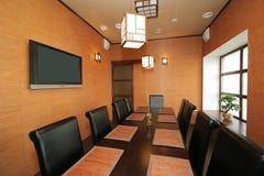 Restaurant japonais neuf Image libre de droits