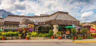 Restaurant Jasper National Park Photos libres de droits