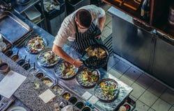 Restaurant in Jerusalem royalty free stock photo