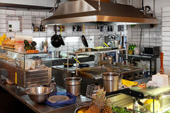 Restaurant kitchen Royalty Free Stock Photos