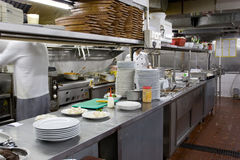 Restaurant kitchen Royalty Free Stock Images