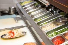 Restaurant kitchen stock photos