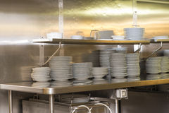 Restaurant kitchen Royalty Free Stock Photography