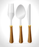 Restaurant and kitchen dishware Royalty Free Stock Image