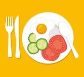 Restaurant and kitchen dishware Royalty Free Stock Photo