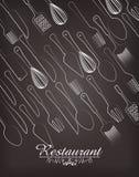 Restaurant and kitchen dishware Stock Photos