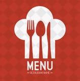 Restaurant and kitchen dishware Stock Image