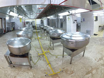 Restaurant kitchen Stock Image