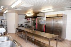 Restaurant kitchen inside Royalty Free Stock Image