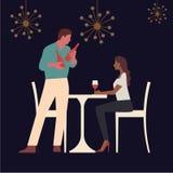 Restaurant, Koffie of Bar royalty-vrije illustratie