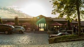 Restaurant Kruje de KROI Images libres de droits