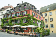 Restaurant on Lake Constance Stock Images