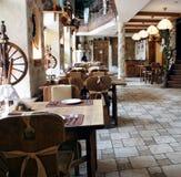 Restaurant in landstijl Royalty-vrije Stock Afbeeldingen