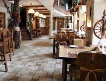 Restaurant in landstijl Royalty-vrije Stock Fotografie