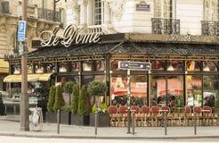 The restaurant Le Dome, Paris, France. Royalty Free Stock Photos